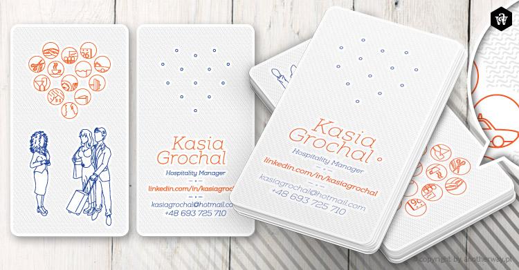 Kasia Grochal - wizytowka jasna