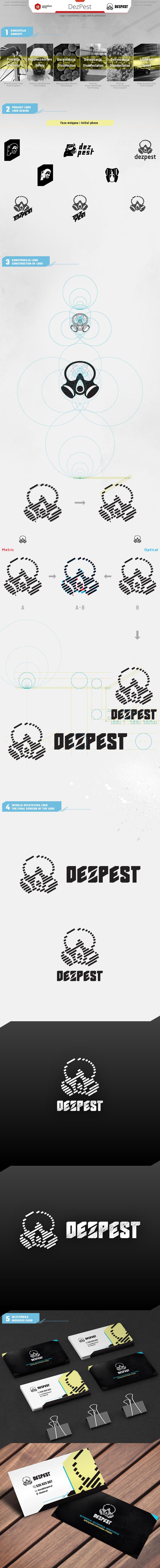 DezPest - logo prezentacja