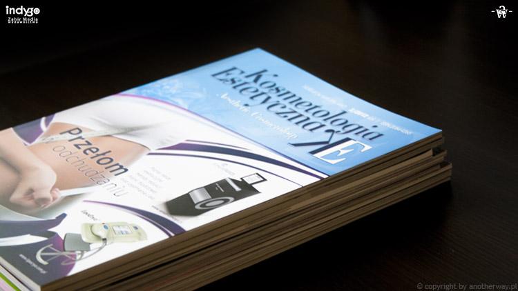 Skład iłamanie tekstu kwartalników dla wydawnictwa naukowego Indygo Zahir Media