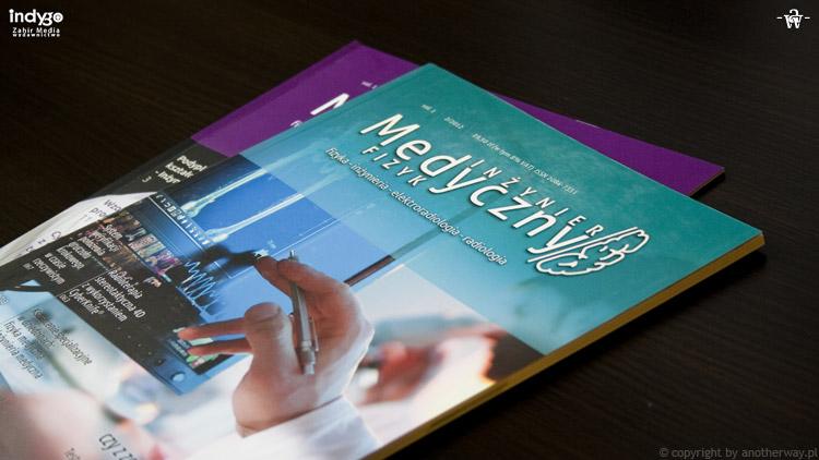 Inzynier iFizyk Medzyczny  dwa pierwsze numery - Skład iłamanie tekstu